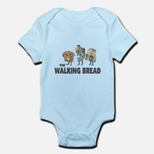 the walking bread Body Suit