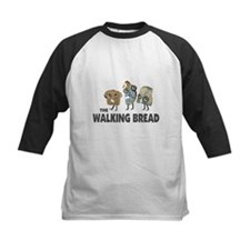 the walking bread Baseball Jersey
