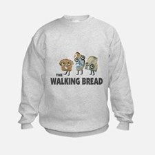 the walking bread Sweatshirt