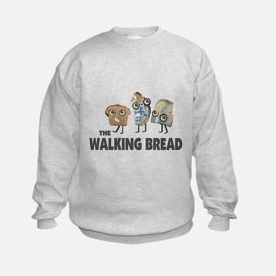 the walking bread Sweatshirt