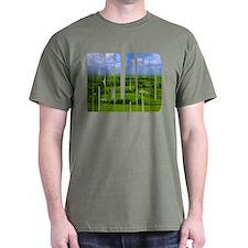 Ireland Green Pastures Photo T-Shirt