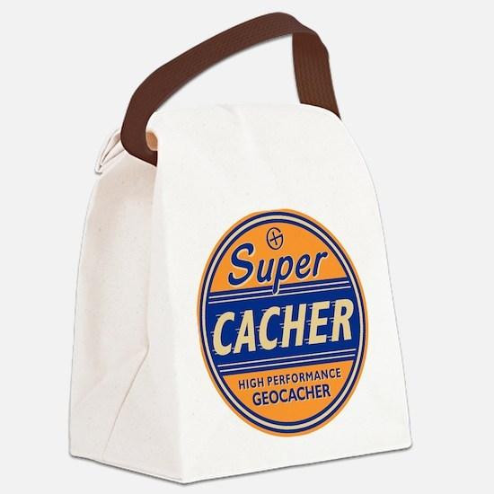 Cute Cache Canvas Lunch Bag