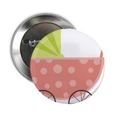 "Baby Carriage 2.25"" Button"
