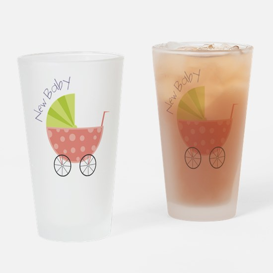 New Baby Drinking Glass