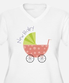 New Baby Plus Size T-Shirt