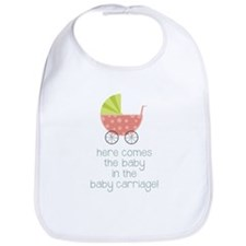 Baby in the Baby Carriage Bib