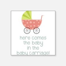 Baby in the Baby Carriage Sticker