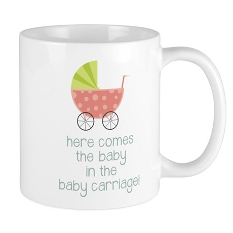 Baby in the Baby Carriage Mug