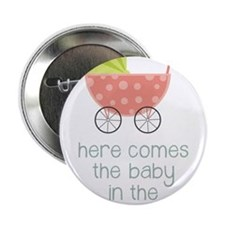 "Baby in the Baby Carriage 2.25"" Button"