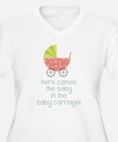 Baby in the Baby Carriage Plus Size T-Shirt