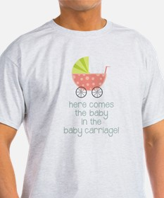 Baby in the Baby Carriage T-Shirt