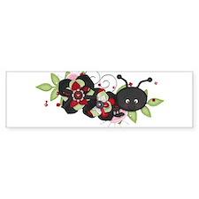Lovebug Ladybug Bumper Bumper Sticker