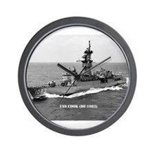 Cute Uss cook Wall Clock
