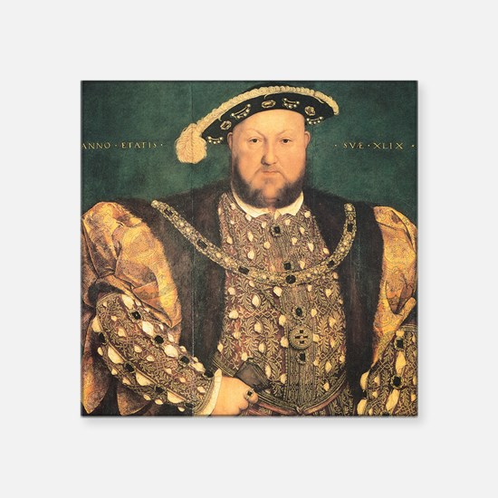 Hans Holbein the Younger Henry VIII Square Sticker