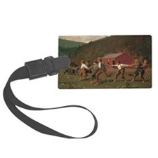 Winslow Homer Snap The Whip Luggage Tag
