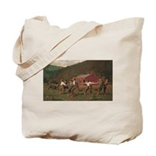 Winslow Homer Snap The Whip Tote Bag