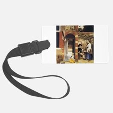 Pieter de Hooch Courtyard Of A House Luggage Tag
