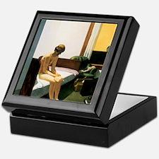 Edward Hopper Hotel Room Keepsake Box