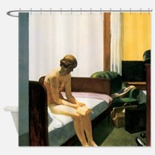Edward Hopper Hotel Room Shower Curtain