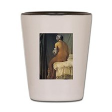 Jean Auguste Dominique Ingres Bather Shot Glass