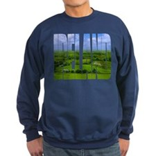 Ireland Green Pastures Photo Sweatshirt