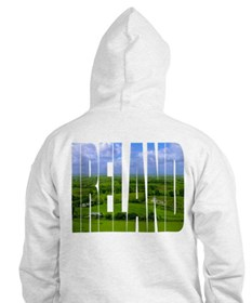 Ireland Green Pastures Photo Hoodie