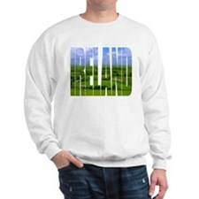 Ireland Green Pastures Photo Sweatshirt
