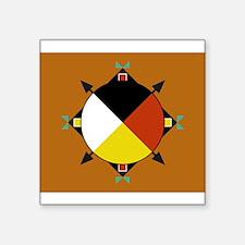 Cherokee Four Direction Sticker