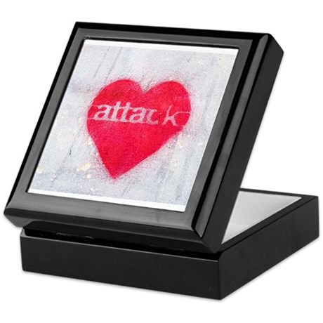 Heart Attack Graphic Keepsake Box