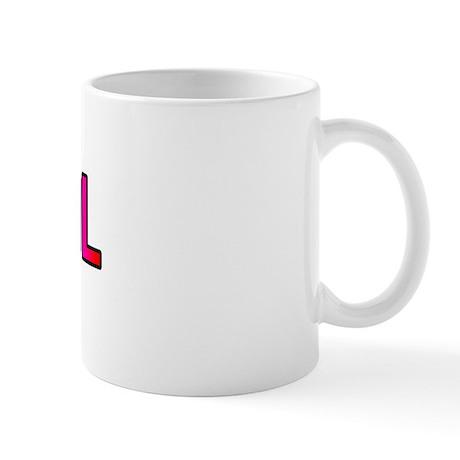 FUKITOL RAINBOW TEXT Mug