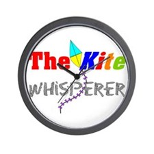 The kite whisperer 2 Wall Clock