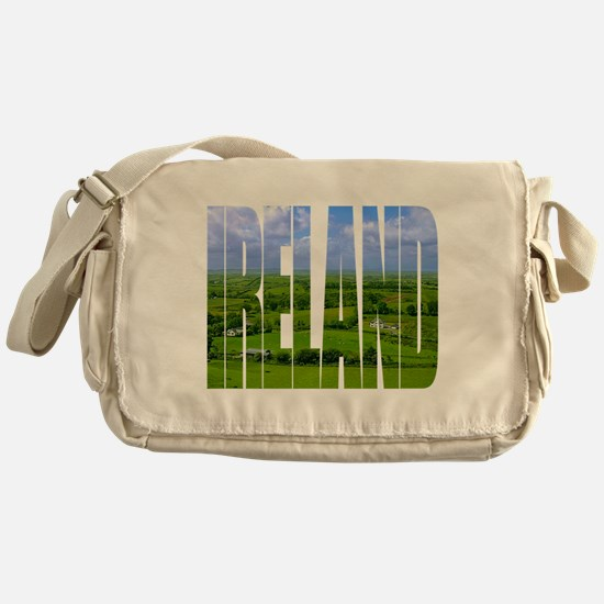 Ireland Green Pastures Photo Messenger Bag