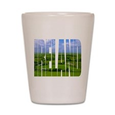 Ireland Green Pastures Photo Shot Glass