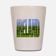 Ireland Green Pastures Photo Shot Glass