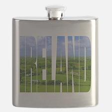 Ireland Green Pastures Photo Flask