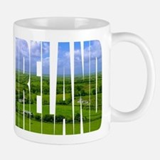 Ireland Green Pastures Photo Mug