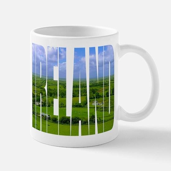 Ireland Green Pastures Photo Mug