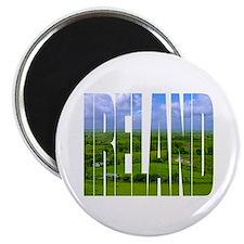 Ireland Green Pastures Photo Magnet