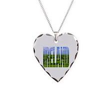 Ireland Green Pastures Photo Necklace