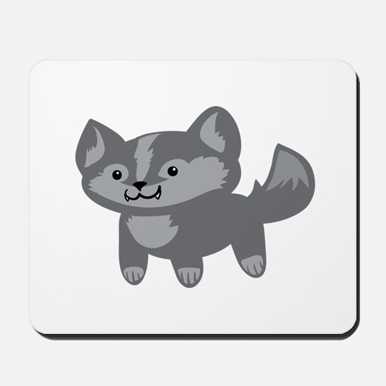 Happy Wolf Mousepad