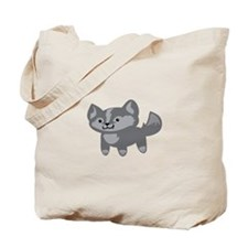 Happy Wolf Tote Bag