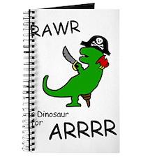 RAWR is Dinosaur for ARRR (Pirate Dinosaur) Journa
