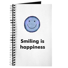Smiling is happiness Journal