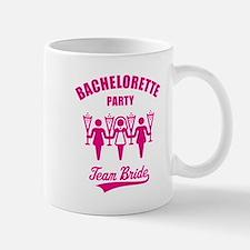 Bachelorette Party – Team Bride, Magenta Mug