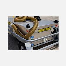 Aircraft lavatory pump - Rectangle Magnet