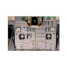 Apollo Lunar Module interior - Rectangle Magnet