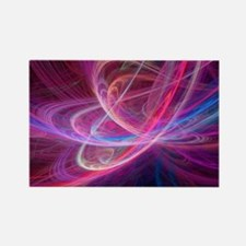 Chaos waves, artwork - Rectangle Magnet
