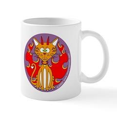 Angel Kitty / Devil Kitty Mug