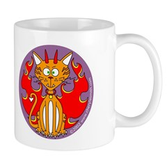 Angel Kitty / Devil Kitty Mug