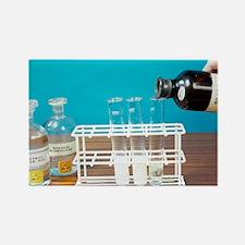 Haloalkane test - Rectangle Magnet
